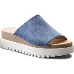Klapki GABOR - 83.613.36 Jeans. Niebieskie klapki damskie Gabor, z jeansu. W wyprzedaży za 229.00 zł.