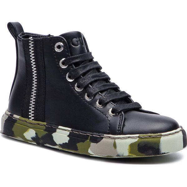 46339a35 Sneakersy CARINII - FI7LHI ELE12 BLK - Buty zimowe chłopięce marki ...