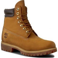 Trapery TIMBERLAND - 6 In Boot 73540/TB0735402311 Wheat. Brązowe śniegowce i trapery męskie Timberland, z gumy. W wyprzedaży za 549.00 zł.