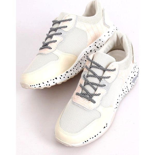 Buty sportowe beżowe YL 22 Beige brązowe