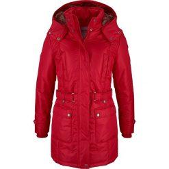 Płaszcz zimowy bonprix ciemnoczerwony. Płaszcze damskie marki FOUGANZA. Za 239.99 zł.