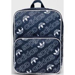 Adidas Originals - Plecak. Szare plecaki damskie adidas Originals, z materiału. W wyprzedaży za 99.90 zł.