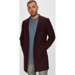 Premium by Jack&Jones - Płaszcz. Czarne płaszcze męskie Premium by Jack&Jones, z materiału, klasyczne. W wyprzedaży za 399.90 zł.