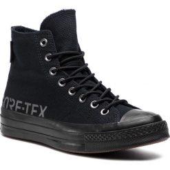 Trampki CONVERSE - Chuck 70 Hi GORE-TEX 162350C Black/Black/Black. Czarne trampki męskie Converse, z gore-texu. W wyprzedaży za 359.00 zł.