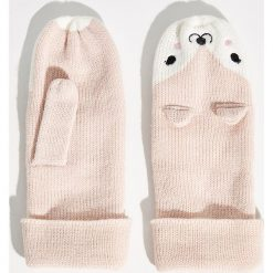 Rękawiczki z jednym palcem - Różowy. Czerwone rękawiczki damskie Sinsay. Za 24.99 zł.