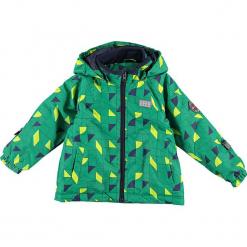 Kurtka zimowa w kolorze zielonym. Zielone kurtki i płaszcze dla chłopców marki Lego Wear Fashion, z bawełny, z długim rękawem. W wyprzedaży za 195.95 zł.