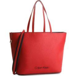 Torebka CALVIN KLEIN - Pop Touch Shopper K60K604286 627. Czerwone torebki shopper damskie Calvin Klein, ze skóry ekologicznej. Za 699.00 zł.
