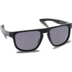 Okulary przeciwsłoneczne OAKLEY - Holbrook R OO9377-0255 Matte Black/Prizm Black Iridium. Czarne okulary przeciwsłoneczne męskie Oakley, z tworzywa sztucznego. W wyprzedaży za 549.00 zł.
