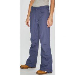 Roxy - Spodnie Snowboardowe. Szare spodnie materiałowe damskie Roxy, z dzianiny. W wyprzedaży za 439.90 zł.