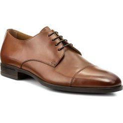 Półbuty BOSS - Kensington 50379826 10201996 01  Medium Brown 210. Brązowe eleganckie półbuty Boss, ze skóry. W wyprzedaży za 649.00 zł.
