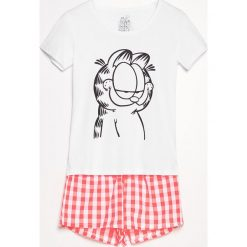 Piżama Garfield - Biały. Białe piżamy damskie Reserved. Za 59.99 zł.