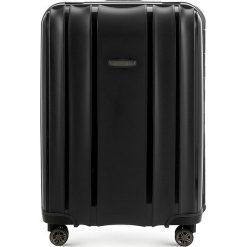 Walizka średnia 56-3T-732-10. Czarne walizki damskie Wittchen. Za 259.00 zł.