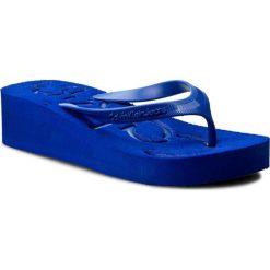 Japonki CALVIN KLEIN JEANS - Tamber R4117 Cobalt/Cobalt. Niebieskie klapki damskie Calvin Klein Jeans, w paski, z jeansu. Za 179.90 zł.