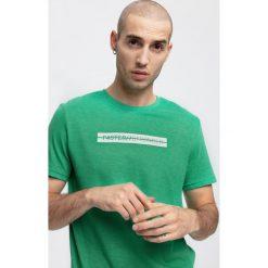 T-shirt męskiI TSM256 - zielony melanż. T-shirty męskie marki Giacomo Conti. Za 49.99 zł.