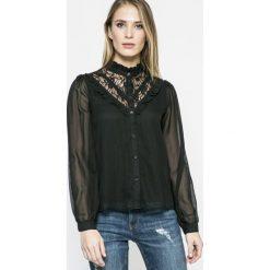 Vero Moda - Koszula. Czarne koszule damskie Vero Moda, z długim rękawem. W wyprzedaży za 69.90 zł.