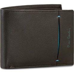 Duży Portfel Męski PIERRE CARDIN - TILAK07 8805 Nero/Blu 15934. Czarne portfele męskie Pierre Cardin, ze skóry. Za 99.00 zł.