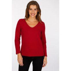 """Koszulka """"Franklyn"""" w kolorze czerwonym. Czerwone t-shirty damskie Scottage, z bawełny. W wyprzedaży za 63.95 zł."""