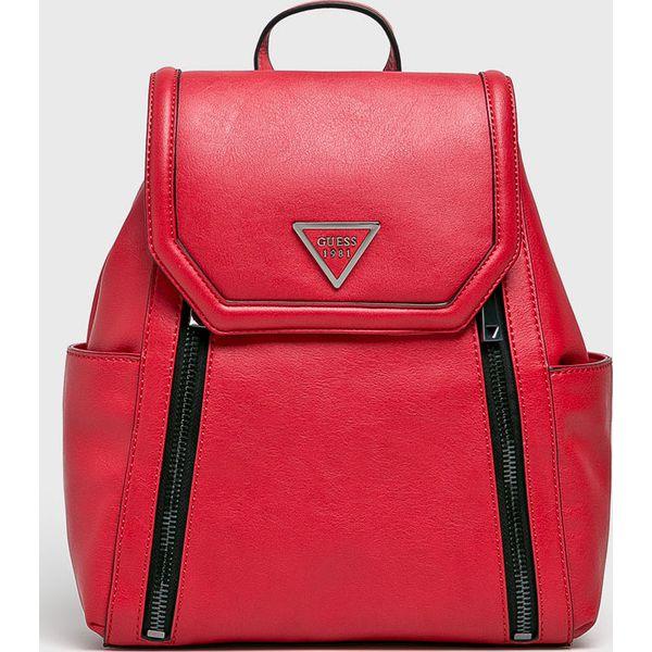 ddfd010c18cf Guess Jeans - Plecak - Czerwone plecaki damskie marki Guess Jeans