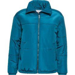 Kurtka zimowa, watowana bonprix zielony oceaniczny. Zielone kurtki damskie bonprix, na zimę. Za 89.99 zł.