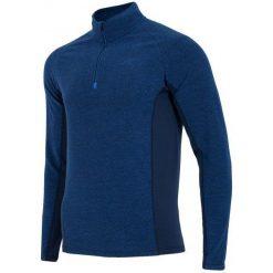 4F Męska Bluza Termoaktywna H4Z17 bimp002 Granatowy Melanż S. Bluzy męskie marki KALENJI. W wyprzedaży za 63.00 zł.