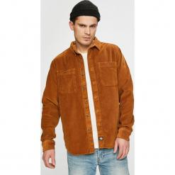 Dickies - Koszula. Brązowe koszule męskie Dickies, z bawełny, z klasycznym kołnierzykiem, z długim rękawem. W wyprzedaży za 339.90 zł.