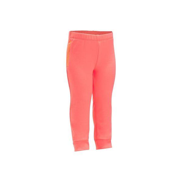 e0389097a Spodnie 560 Gym - Spodnie sportowe dla dziewczynek marki DOMYOS. Za ...