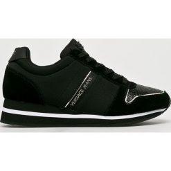 Versace Jeans - Buty. Czarne obuwie sportowe damskie Versace Jeans, z jeansu. W wyprzedaży za 499.90 zł.