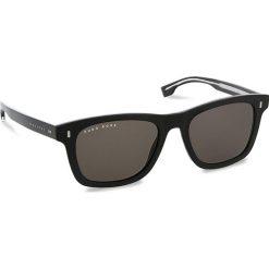 Okulary przeciwsłoneczne BOSS - 0925/S Black 807. Czarne okulary przeciwsłoneczne damskie Boss, z tworzywa sztucznego. W wyprzedaży za 489.00 zł.