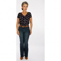"""Dżinsy """"Boutons"""" - Modern fit - w kolorze granatowym. Niebieskie jeansy damskie Scottage. W wyprzedaży za 86.95 zł."""