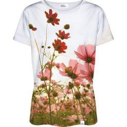 Colour Pleasure Koszulka damska CP-030 213 biało-zielona r. XL/XXL. T-shirty damskie Colour Pleasure. Za 70.35 zł.