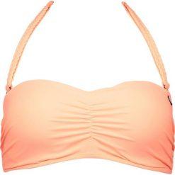 """Biustonosz bikini """"Saltimbocca"""" w kolorze brzoskwiniowym. Biustonosze Brunotti, w paski. W wyprzedaży za 56.95 zł."""