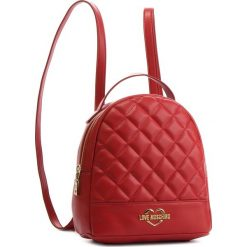 Plecak LOVE MOSCHINO - JC4206PP06KA0500 Rosso. Czerwone plecaki damskie Love Moschino, ze skóry ekologicznej, eleganckie. Za 679.00 zł.