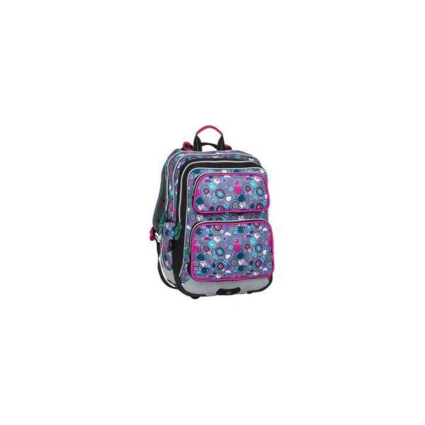 6afbcab329c28 Plecak szkolny trzykomorowy Bagmaster kolorowe bąbelki - Torby i ...