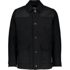 """Kurtka """"Waxed Donkey"""" w kolorze czarnym. Czarne kurtki męskie Ben Sherman, z aplikacjami, ze skóry. W wyprzedaży za 434.95 zł."""