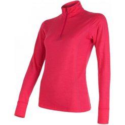 Sensor Bluzka Termiczna Merino Wool Active W Zip Magenta M. Czerwone koszulki sportowe damskie Sensor, z wełny, z długim rękawem. Za 225.00 zł.