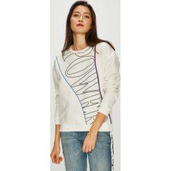 Tally Weijl - Bluza. Szare bluzy damskie TALLY WEIJL, z aplikacjami, z bawełny. Za 89.90 zł.