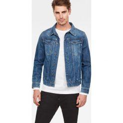 G-Star Raw - Kurtka jeansowa. Szare kurtki męskie G-Star Raw, z bawełny, retro. Za 599.90 zł.