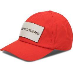 Czapka z daszkiem CALVIN KLEIN JEANS - J K40K400258 630. Czerwone czapki i kapelusze damskie Calvin Klein Jeans, z bawełny. Za 159.00 zł.