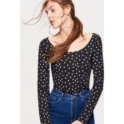 Koszulka z długim rękawem - Czarny. Bluzki z długim rękawem męskie marki Marie Zélie. W wyprzedaży za 19.99 zł.