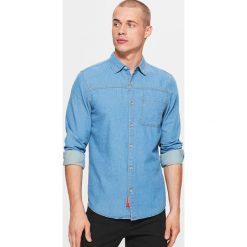 d5138276f0d696 Denimowa koszula - Niebieski. Koszule damskie marki Cropp. W wyprzedaży za  29.99 zł.