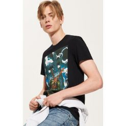 T-shirt Marvel - Czarny. T-shirty męskie marki Giacomo Conti. Za 59.99 zł.