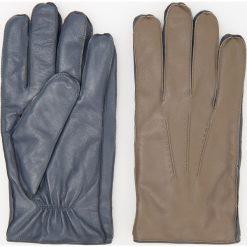 Rękawiczki skórzane ReDesign - Brązowy. Rękawiczki męskie marki FOUGANZA. W wyprzedaży za 79.99 zł.