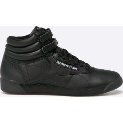 Reebok Classic - Buty Classic Freestyle Hi. Czarne obuwie sportowe damskie Reebok Classic, z materiału. W wyprzedaży za 239.90 zł.