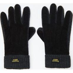 Rękawiczki - Czarny. Czarne rękawiczki męskie Cropp. Za 59.99 zł.