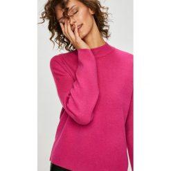 Vero Moda - Sweter Tasty. Różowe swetry damskie Vero Moda, z dzianiny. W wyprzedaży za 129.90 zł.
