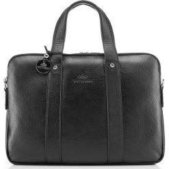Torba na laptopa 20-3-044-11. Czarne torby na laptopa damskie Wittchen, w paski. Za 1,269.00 zł.