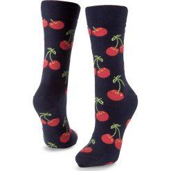 Skarpety Wysokie Unisex HAPPY SOCKS - CHE01-6000 Granatowy Kolorowy. Niebieskie skarpety męskie Happy Socks, w kolorowe wzory, z bawełny. Za 34.90 zł.