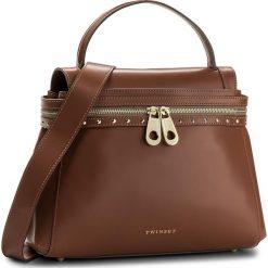 Torebka TWINSET - Cecile Deux OS8TGN Cuoio 00057. Brązowe torby na ramię damskie Twinset. W wyprzedaży za 729.00 zł.
