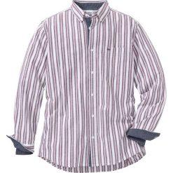Koszula z długim rękawem Regular Fit bonprix biało-czerwony w paski. Koszule męskie marki Giacomo Conti. Za 109.99 zł.