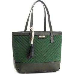 Torebka MONNARI - BAG9220-008 Green. Zielone torebki do ręki damskie Monnari, z materiału. W wyprzedaży za 199.00 zł.